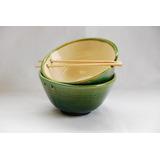 Bowl De Ceramica Artesanal- Cuenco- Fundación Los Naranjos