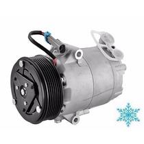 Compressor Gm Corsa Montana Meriva Produto Novo R134a