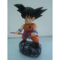 Goku Criança - Dragon Ball - Anime - Boneco Em Resina