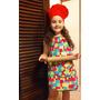 Delantales Cocina-pintura Infantiles + Gorrito De Friselina