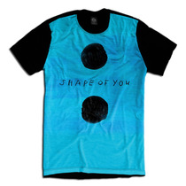 Ed Sheeran Camiseta Divide Album Shape Personalizada Swag
