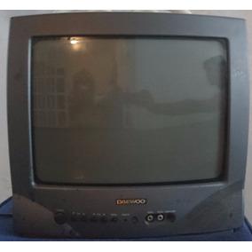 Televisor Tv 14 Daewoo Con Su Control