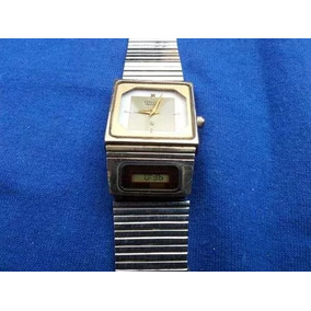 Reloj De Pulsera Vintage Citizen Quartz Ana Digi