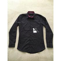 Camisa Tascani Negro Fantasia