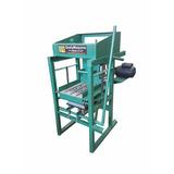 Máquina De Fazer Blocos De Concreto Manual