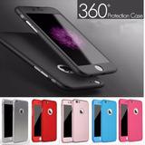 Capa Premium 360° Iphone 6 6s Várias Cores C/ Película Vidro