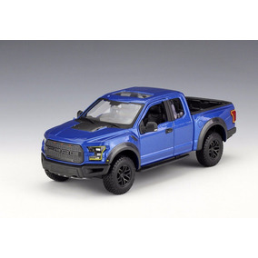 Ford Raptor 2017 Blue Maisto 1/24 Se Trucks