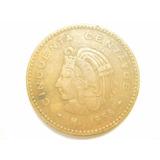 Moneda 50 Centavos Cuauhtemoc Cobre