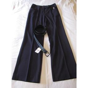 Pantalon Dama De Vestir, Ruben Campos Talla 40 Con Cinturon