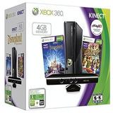 Consola Xbox 360 4 Gb Con Kinect Negro