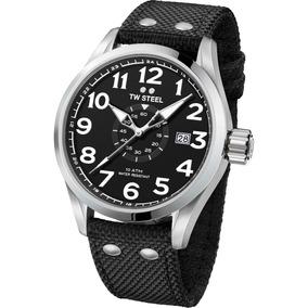 Tw Steel Volante 48mm Cuarzo Acero Big Reloj Vs2 Diego Vez