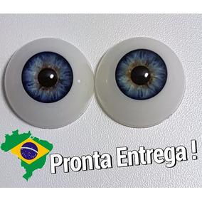 Olhos Azuis Bebe Reborn 26 Mm *importado & Novo* Sd01