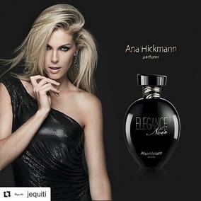 Colônia Desodorante Feminina Ana Hickmann Elegance Noir 80ml
