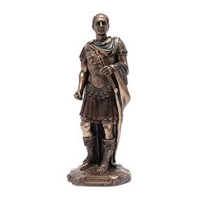 Escultura De Bronce De Julio César - Emperador Romano