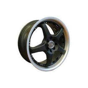 Kit 4 Llantas 17 Deportivas Speed Racing Dr18 4x100/108