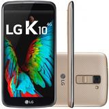 Smartphone Lg K10 Tv Dual 4g 16gb Desbloqueado Original + Nf