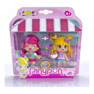 Muñeca Pinypon 2 Figuras De Shopping Con Accesorios