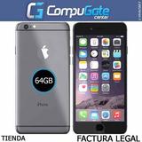 Iphone 6 De 64gb Space Gray Con Accesorios Originales