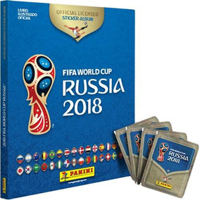 Álbum Da Copa 2018 Capa Dura Acompanha 12 Envelopes