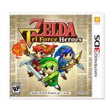 The Legend Of Zelda Tri Force Heroes - Juego Nintendo 3ds