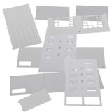 Escala 1/87 Montado Modelos Del Edificio De La Administració