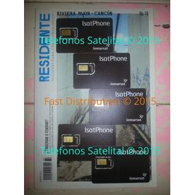 Tarjeta Sim Para Equipo Satelital Inmarsat Isatphone 2 Y Pro