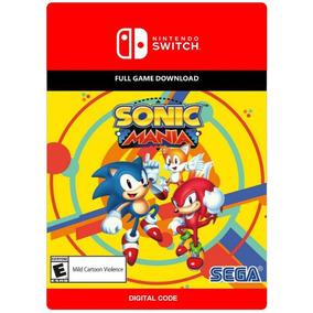 Sonic Mania - Nintendo Switch - Código 16 Digitos