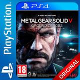 Metal Gear Solid 5 V Ps4 Ground Zeroes Elegi Reputacion