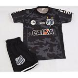 Camisa Do Santos Infantil