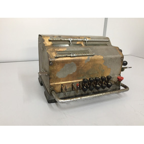 Máquina Caulcular Calculadora Antiga Raridade Antiguidade