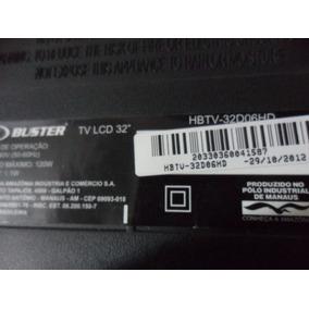 Placa Comando Com Teclado Tv Buster Hbtv32-06hd