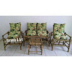 Sofá De Bambu Poltronas/cadeiras/almofadas