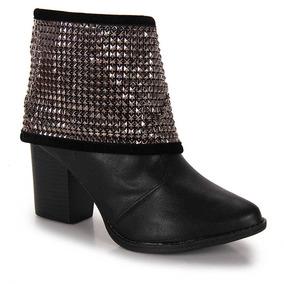 Ankle Boots Feminina Beira Rio - Preto