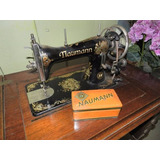 Antigua Máquina Coser Naumann+manual+repuestos
