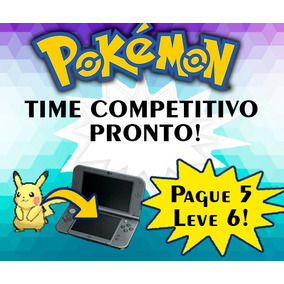 Pokemon Time Competitivo Pronto - 6 Pokes Sm/oras/xy/usum