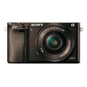 Sony Camara Digital A6000 Montura E,sensor Apsc 24.3mp 1080p