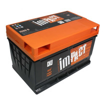 Bateria Impact Som Automotivo Is80 80 Amperes Esquerda