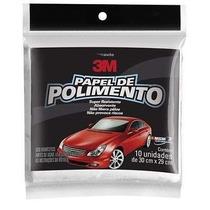 Papel / Folha Polimento 30cm X 29cm Pacote Com 10 Unid 3m