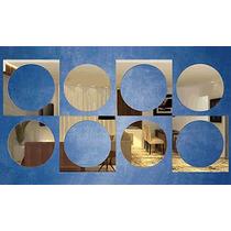 Kit Espelhos Decorativos - Varios Modelos - Escolha O Seu