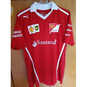 Camisa Polo Ferrari Scuderia F1 - Fórmula 1 Nova Lançamento 4aa9874d626