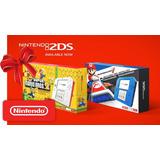 Nintendo 2ds + New Super Mario Bros 2 + Sdhc + 12 Msi