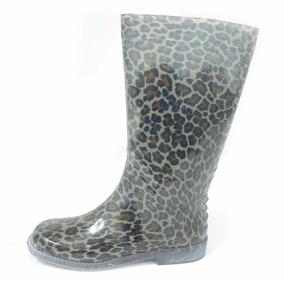 Panam Bota Para Lluvia 010019 0309 Leopardo Transparente