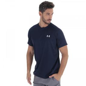 bed93c14a7263 Camiseta Under Armour Tech - Masculina - Cor Azul Esc branco