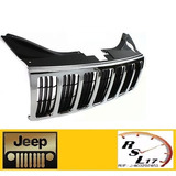 Parrilla Frontal Cromada Jeep Grand Cherokee 2006 2007