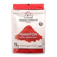 Pimentón Extra Suave Dulce Molino Cerrillos 75g Sin T.a.c.c.