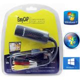 Placa De Captura Easycap Externa Usb Áudio/vídeo Conversor