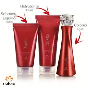 Presente Natura Kriska Tradicional | Perfume + Sab + Hidrata