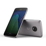 Smartphone Motorola Moto G5 Plus Gris 32gb 4g Lte + Vidrio T
