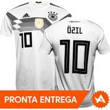 8adc2a6276 Camisa Seleção Alemanha adidas Copa Do Mundo 2018 Nº10 Özil