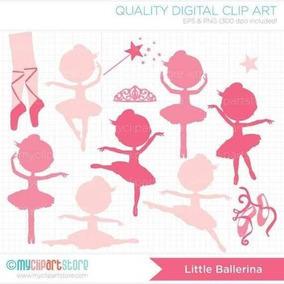 Kit Imprimible Bailarinas Imagenes Clipart Cod44